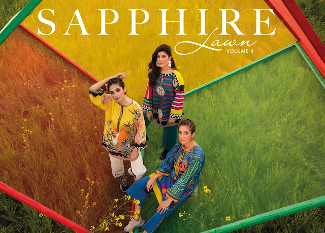 Sapphire Spring Summer Lawn Collection  Vol 2 2020 with Price Buy Online for Ladies