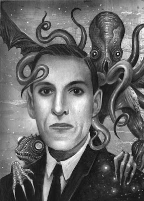 'Lovecraft', illustrazione di Ian Daniels