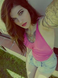 foto de chica argentina