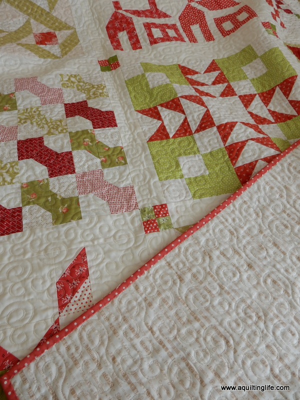 Simple And I actually just finished up a new Christmas quilt top that I ull be sharing with