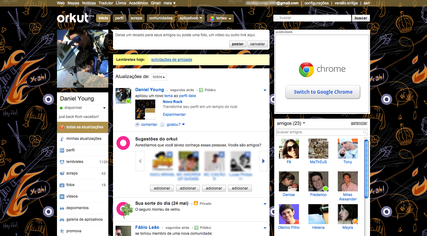 Google Releases New Visual Themes for Orkut