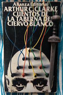 Portada del libro Cuentos de la Taberna del Ciervo Blanco, de Arthur C. Clarke