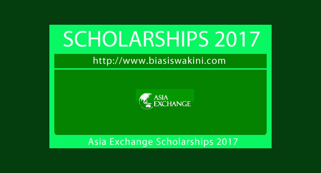 Asia Exchange Scholarships 2017