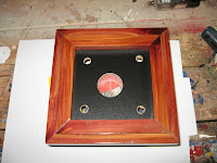Top of the case lid ready for the next step