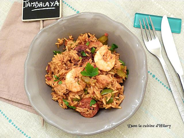 Jambalaya façon Soul food