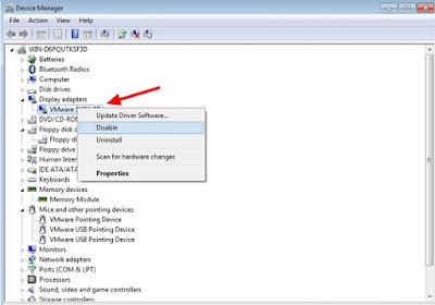 cara mempercepat booting windows 7 dengan device manager