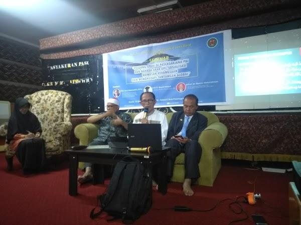 Guru Besar UPI Sambangi Masisir, KPMJB Adakan Seminar Wawasan Kebangsaan