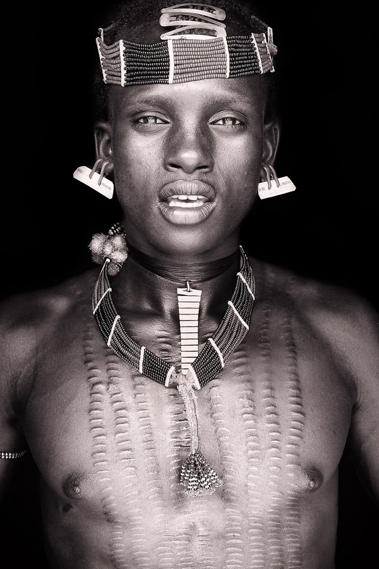 11 Mind-Blowing Pictures Of The Last African Nomads - A Hamar Boy in Ethiopia