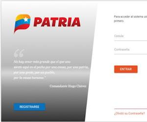 Descargue la Nueva Aplicación para móviles vePATRIA - www.patria.org.ve