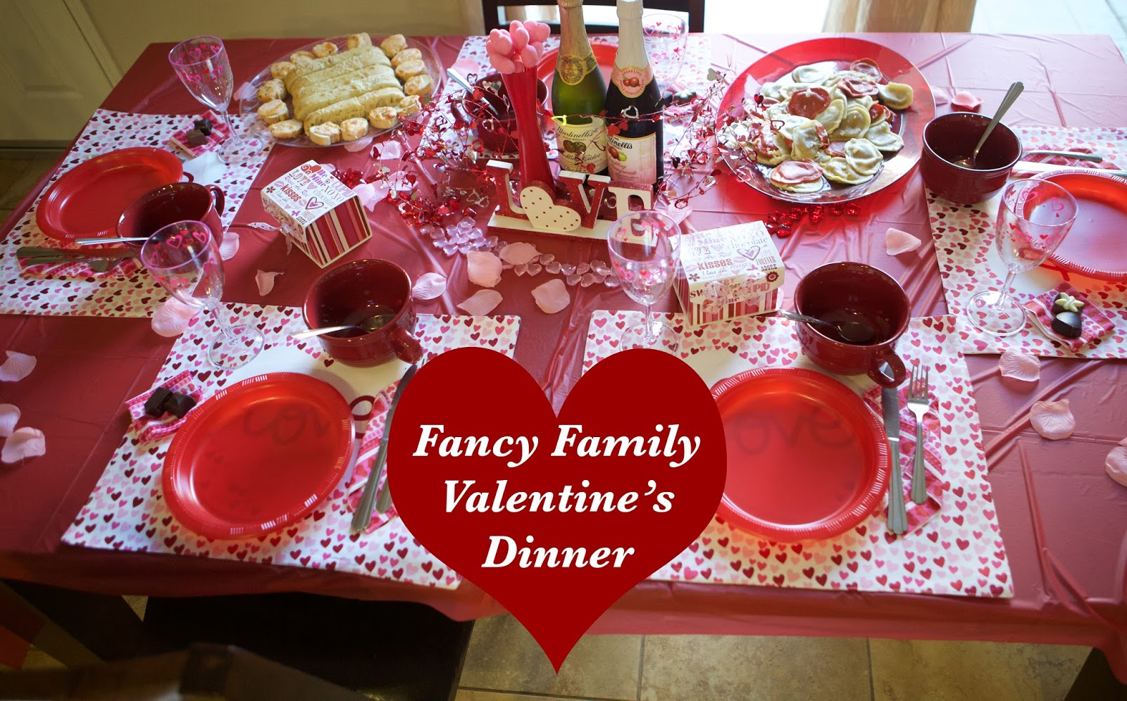 Emmy mom one day at a time family friendly valentine dinner for Valentine dinner recipes kids