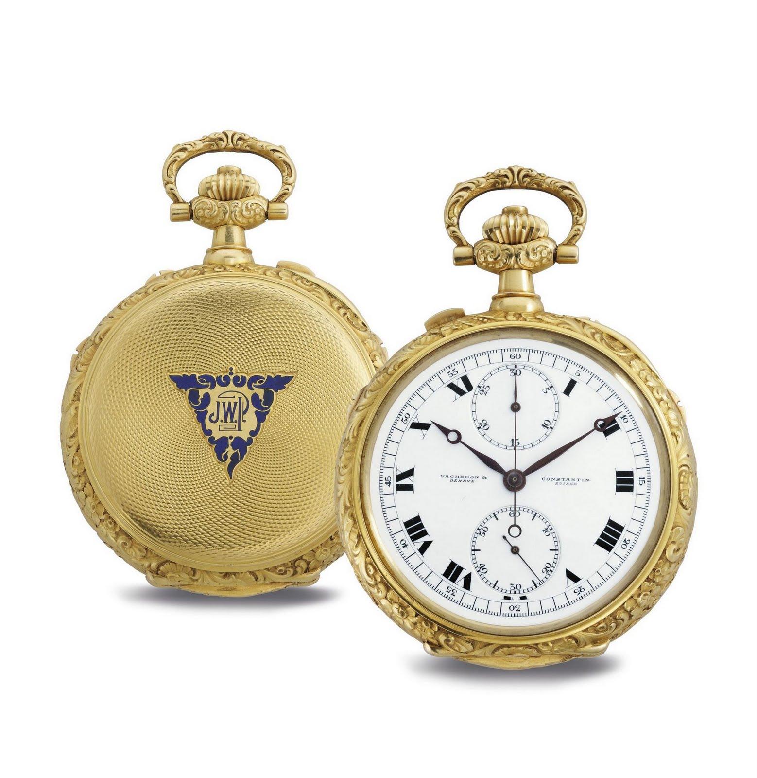 f3245f43853 Estação Cronográfica  Relógio de bolso Vacheron Constantin atinge 1 ...