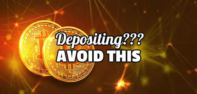 Do not make these mistakes when you deposit and play.