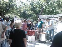 O Allos Anthropos a plateia Viktorias, Atene