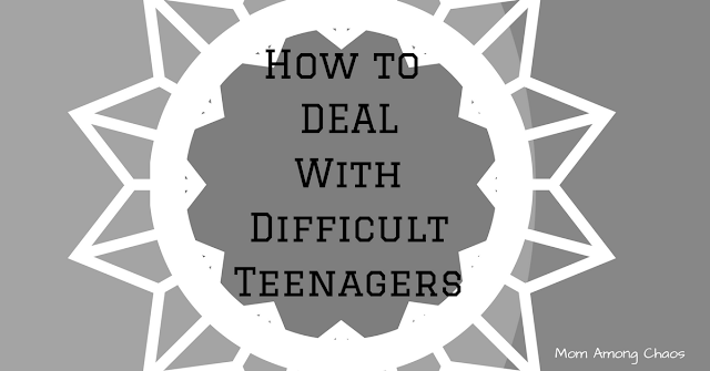 How to deal with difficult teenagers