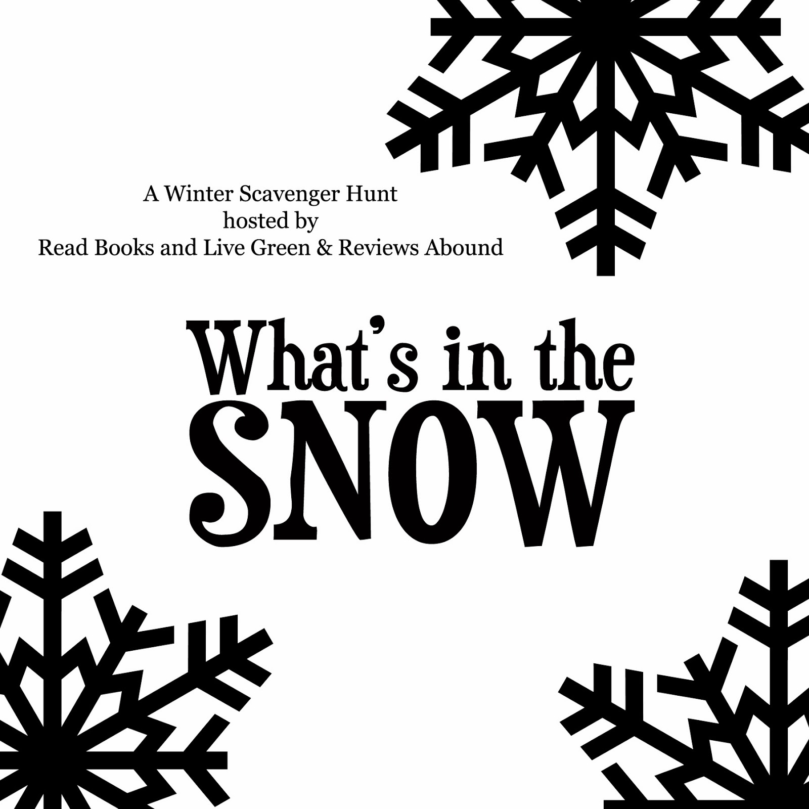 Read Books and Live Green: What's in the Snow? Winter