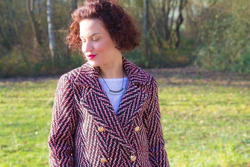 manteau-vero-moda-rouge