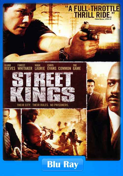 Street Kings 2008 480p BRRip 300mb Poster