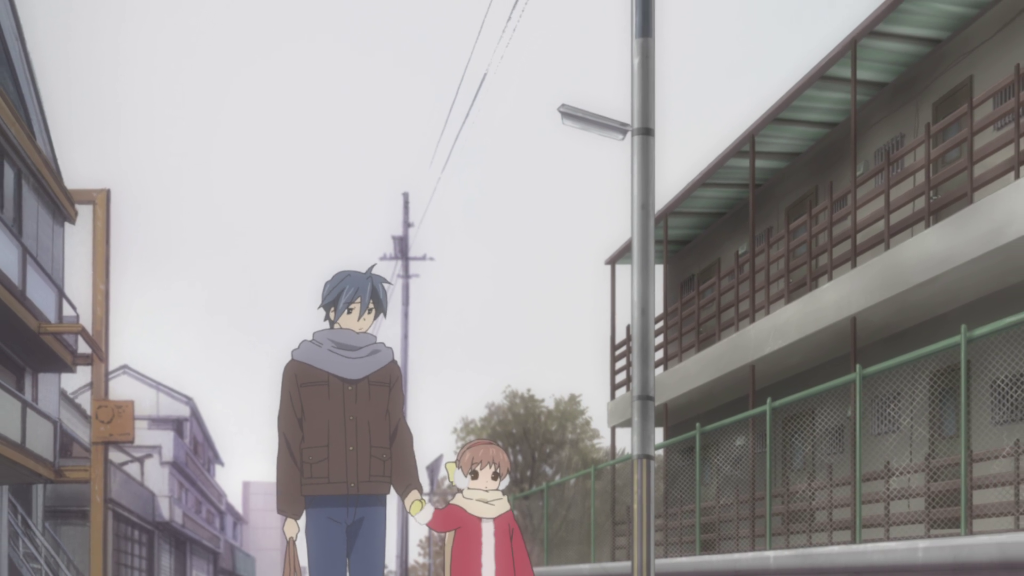Mikehattsu Anime Journeys Clannad After Story Apartment Walk