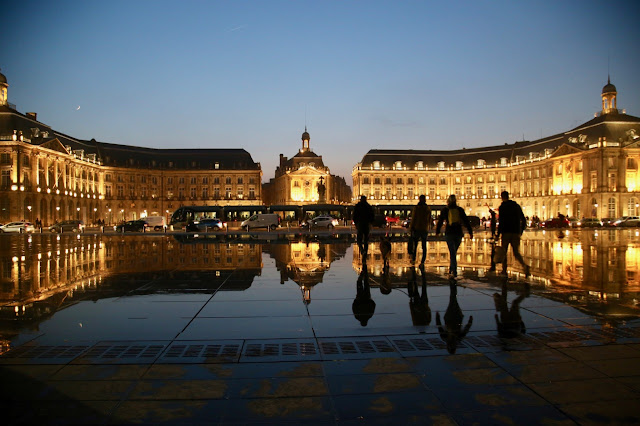 la place de la bourse, bordeaux, france