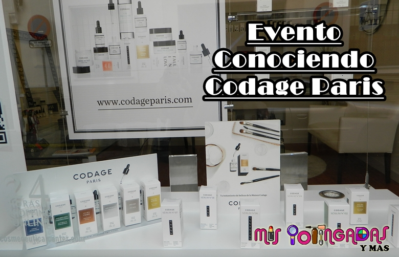 Evento | Conociendo Codage Paris en Cosmeceutical Center