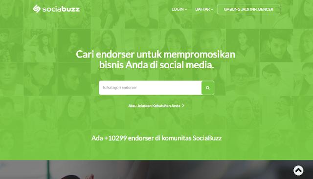 SociaBuzz%2BWebsite Sociabuzz, Solusi Iklan Digital untuk Semua  wallpaper