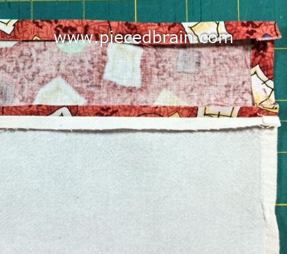 Pieced Brain: Flour sack kitchen towel Tutorial