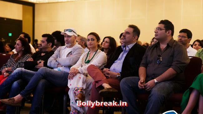 Divya Dutta, Boman Irani and Kayoze Irani, IIFA Awards 2014 Pics