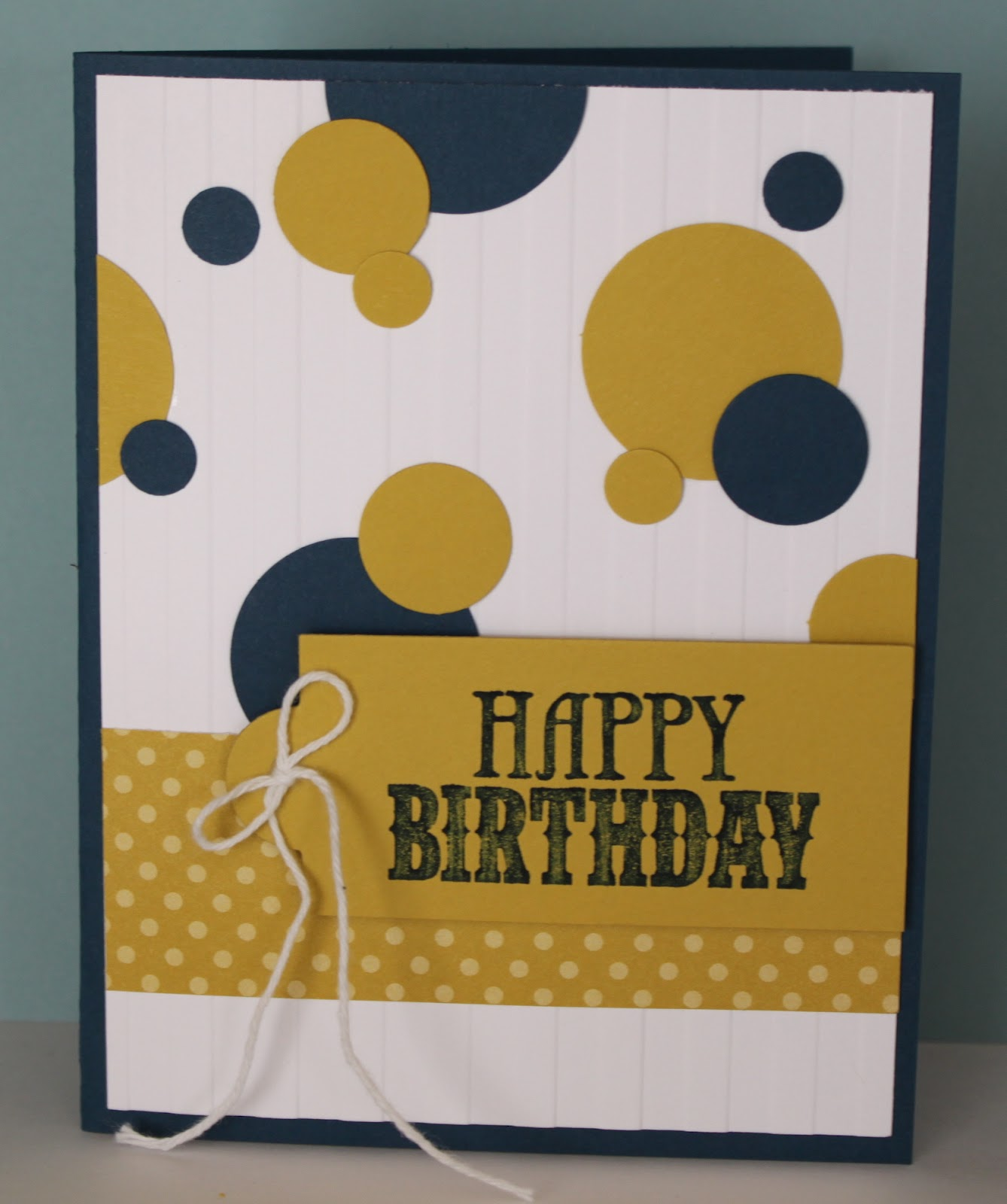 Just Julie B's Stampin' Space: Quick N Easy Birthday Card