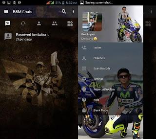 BBM MOD Rossi v3.2.5.12 Apk Gratis