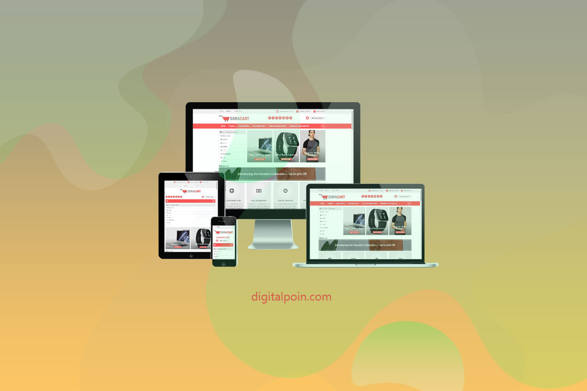 Template Toko Online Blogspot Responsive dan SEO Friendly
