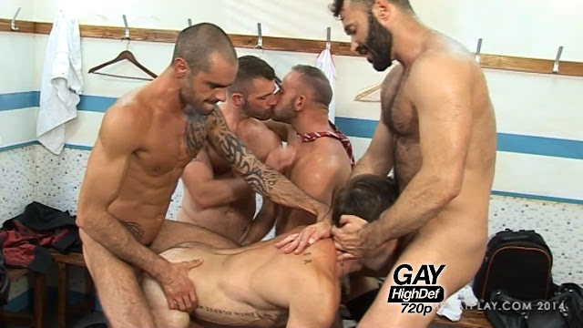 Men At Play - The Game - Wilfried Knight, Jake Genesis, Issac Jones, Morgan Black [266MB]