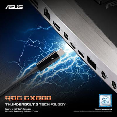 Inilah keunggulan ASUS ROG GX800, Laptop MURAH, cuma seharga MOBIL !!!