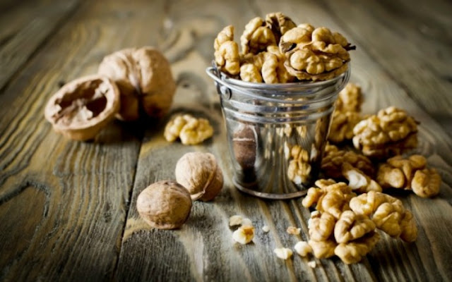 Τα καρύδια μας προστατεύουν από σοβαρές ασθένειες