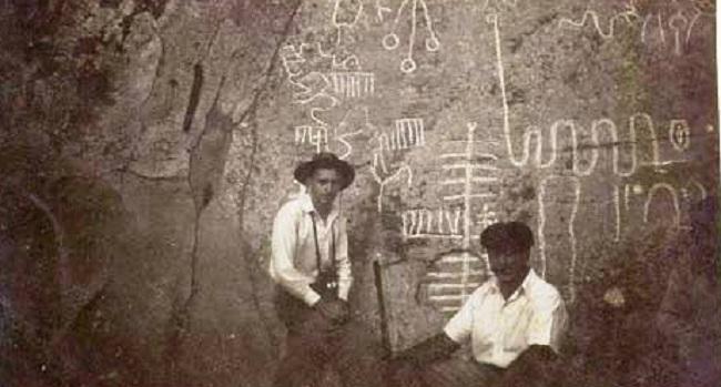 Τα αρχαία  ιερογλυφικά της Νότιας Αμερικής