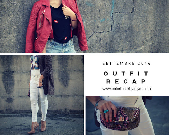 recap outfit settembre 2016 mariafelicia magno fashion blogger color block by felym fashion blog italiani fashion blogger italiane blog di moda blogger italiane web influencer italiane