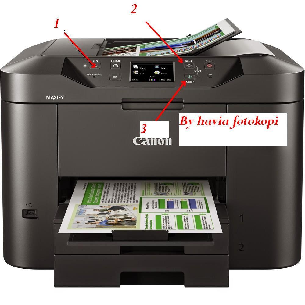 Printer Multifungsi Canon Murah Maxify Mb 235 - unggul dan terbaru