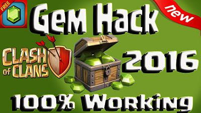Hack Clash Of Clan Unlimited Gems/Gold/Levels 2016