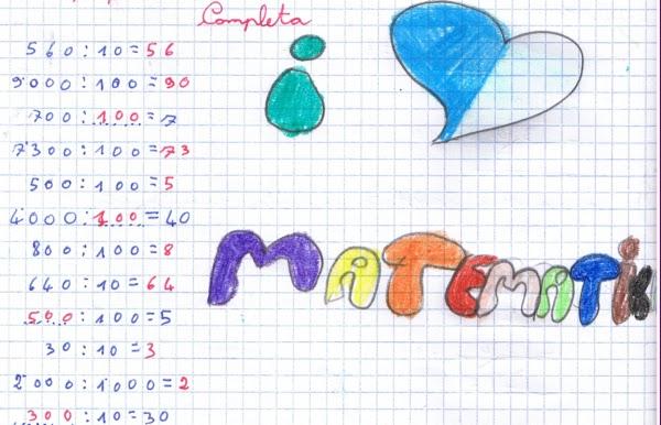 Didattica Matematica Scuola Primaria Divisioni Per 10 100 E 1000