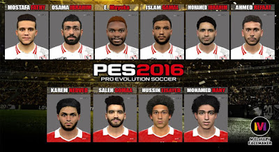 PES 2016 Facepack v14 by M.Elaraby Facemaker