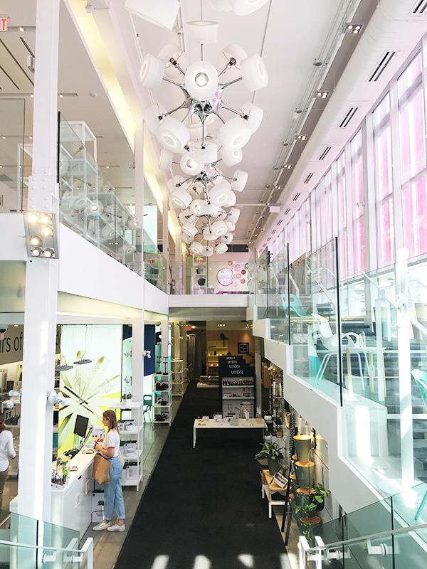 Umbra flagship store, Toronto