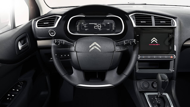 Novo Citroën C4 Lounge 2019 - interior
