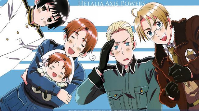 Hetalia Axis Power - Anime Like Hataraku Saibou