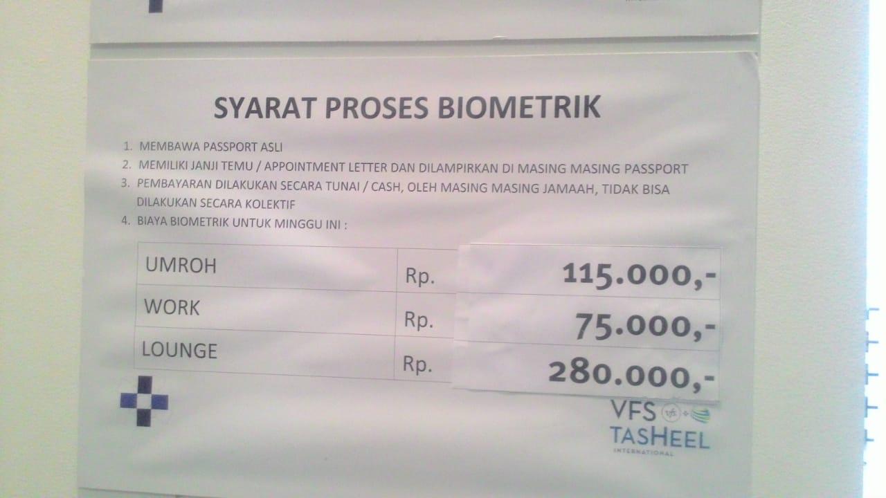 Cara Daftar Rekam Biometrik Untuk Umroh dan Persyaratannya