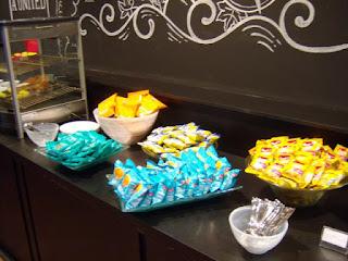 O que tem para comer no Lounge Azul