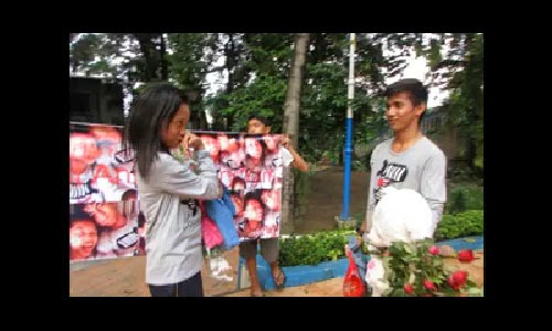 Anniversary surprises of a Good Filipino teen for Girlfriend