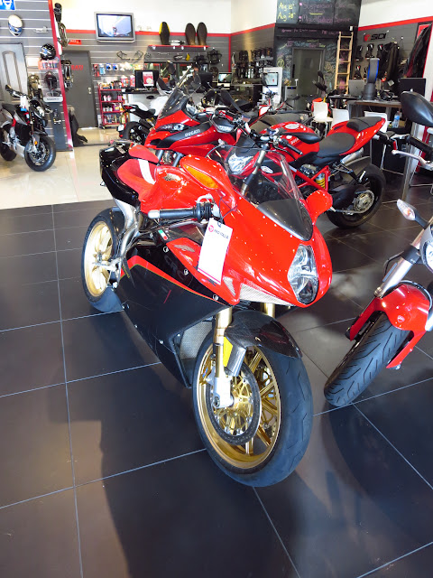 MV Agusta F4 Tamburini Pro Italia Showroom