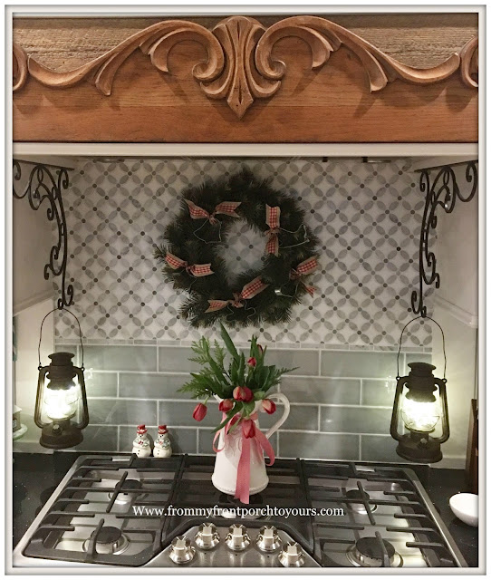 Farmhouse Christmas Decorations-Kitchen-French Country-Cottage Style- From My Front Porch To Yours