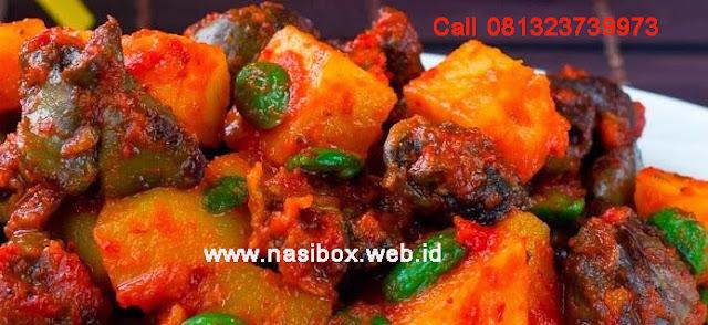 Resep sambel goreng kentang nasi box cimanggu ciwidey
