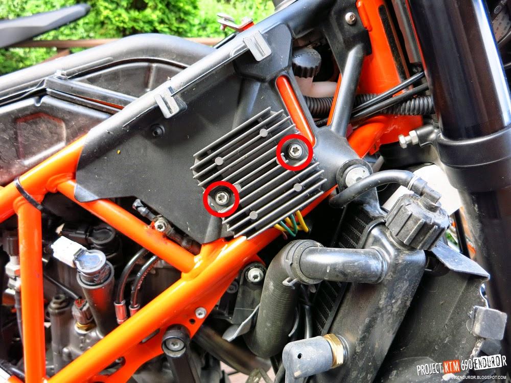 Ktm Radiator Guard Install