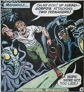 Legion of Super-Heroes #198, tentacled monster, Dave Cockrum